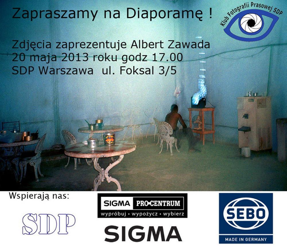 Zaproszenie Albert Zawada